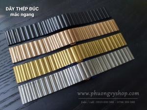 Dây đúc MẮC NGANG - KHOÁ BƯỚM (bản 20mm, 22mm)